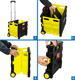A Portable MOUNT-IN Rolling Cart