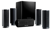 Harman Kardon HKTS 16BQ 5.1 Channel Home Theater Speaker Package