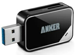 Anker 2-in-One USB 3.0 Portable Card Reader