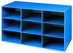 Bankers Box Classroom 9 Compartment Cubby Storage