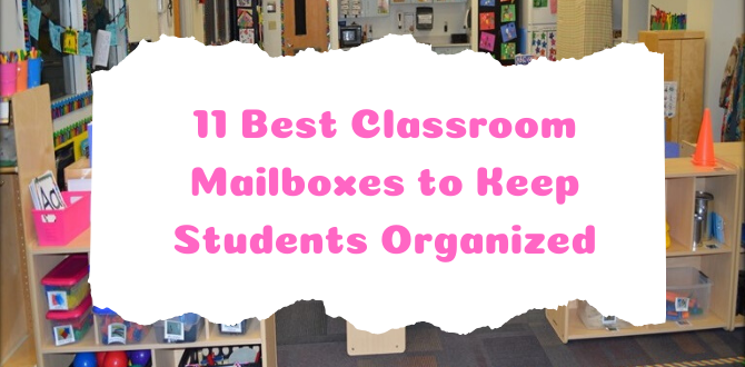 11 Best Classroom Mailboxes