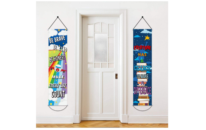 Blulu Two-Pack Motivational Banners