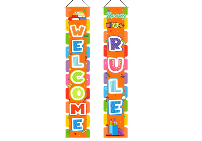 GloBal Pass Welcome & Ready to Rule Banners