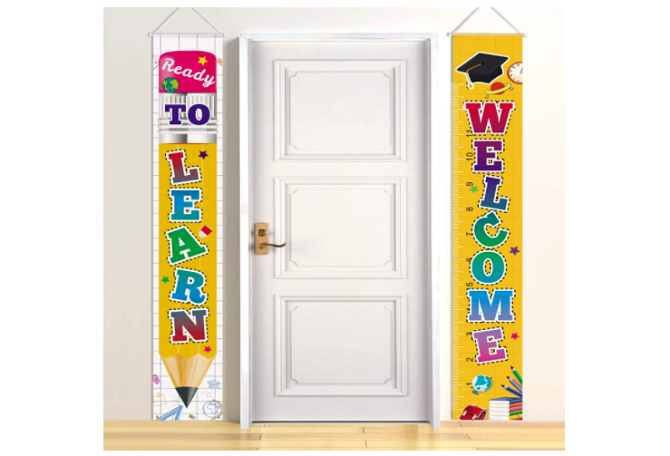 Latoy Welcome Back to School Banners Set