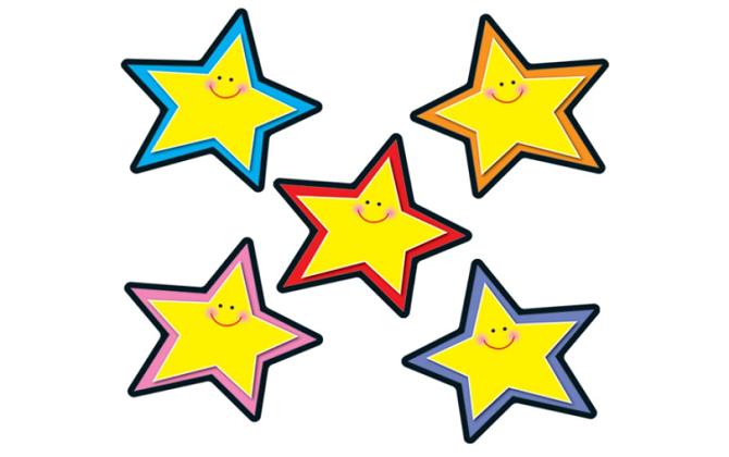 Stars Yellow Cut-Outs